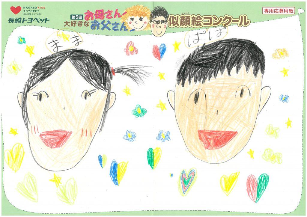 R.Oちゃん(6才)の作品