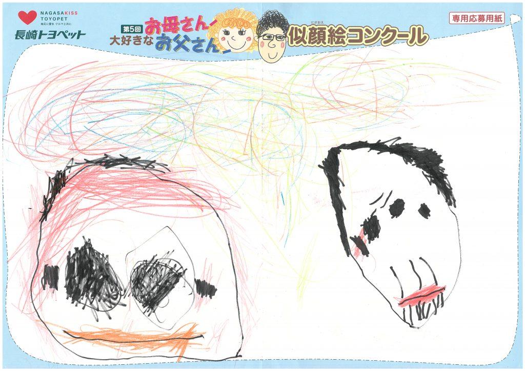 T.Hくん(4才)の作品