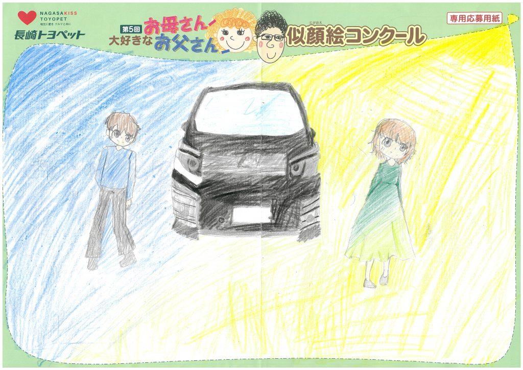 K.Mちゃん(11才)の作品