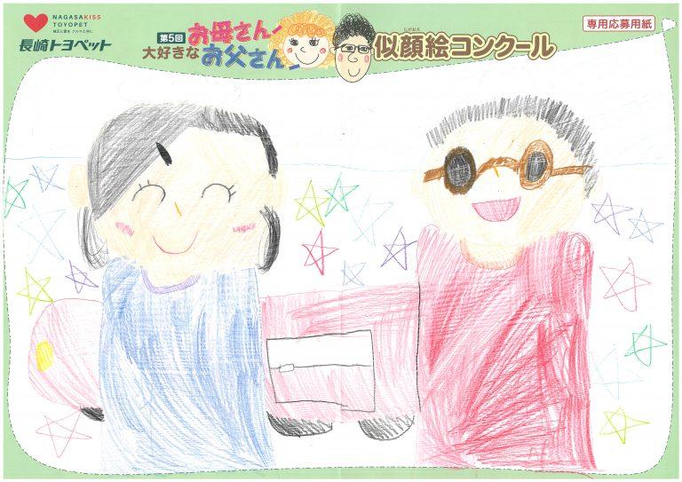 K.Hちゃん(7才)の作品