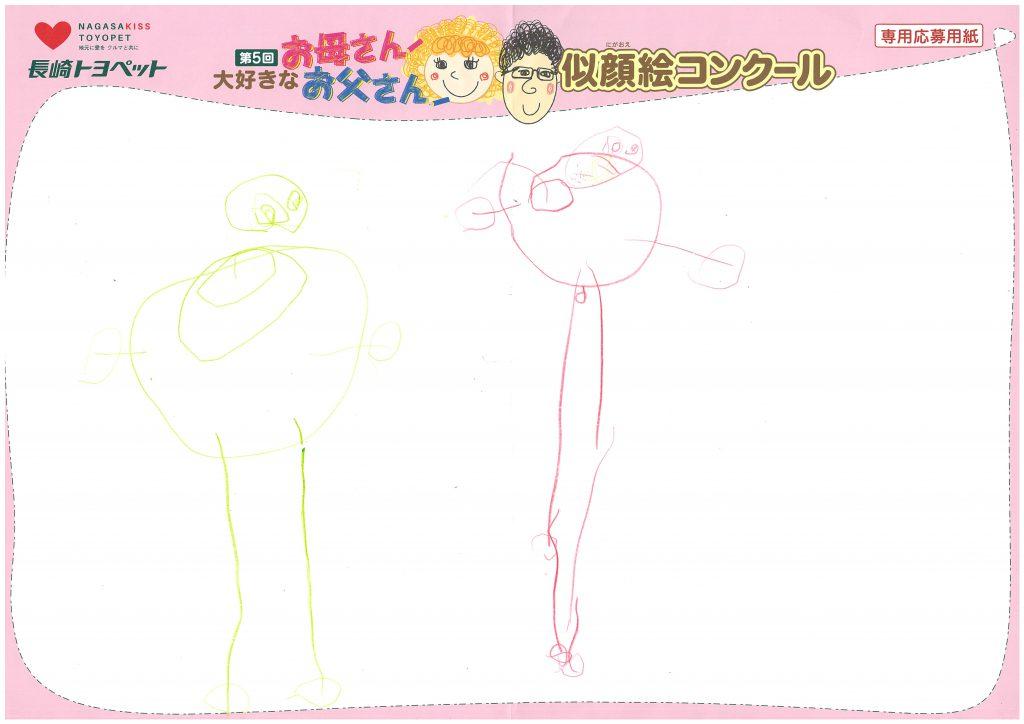 S.Oくん(3才)の作品