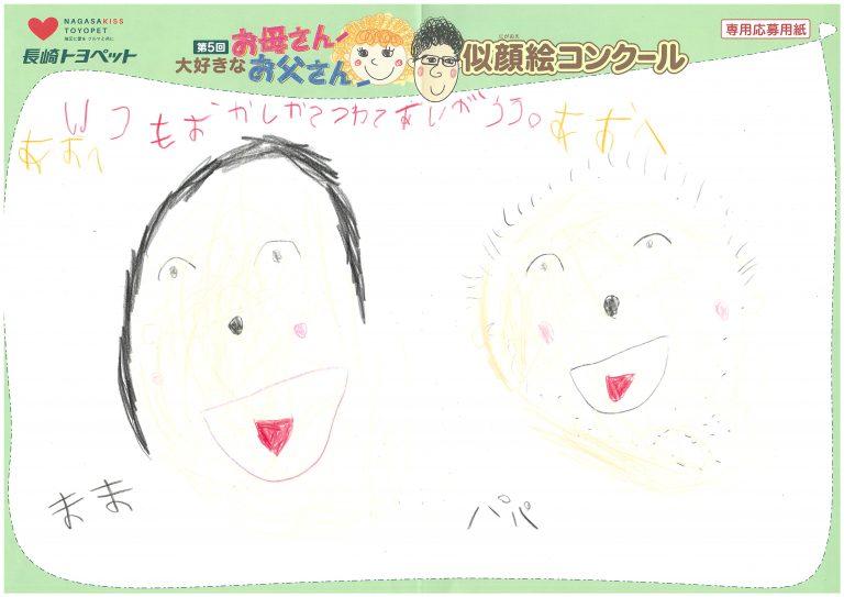 A.Mくん(5才)の作品