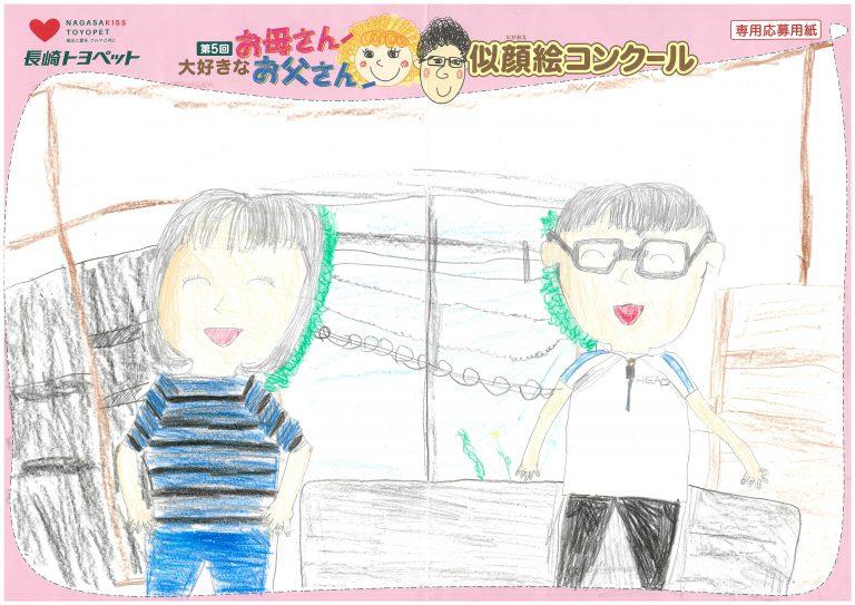 N.Sちゃん(8才)の作品