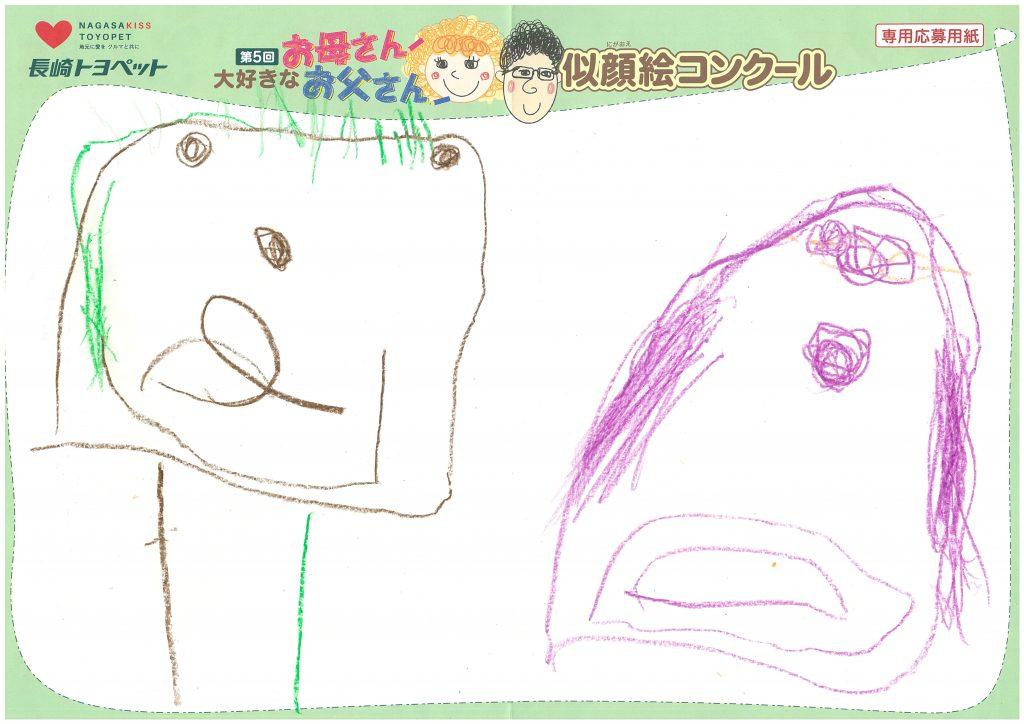 I.Aちゃん(3才)の作品