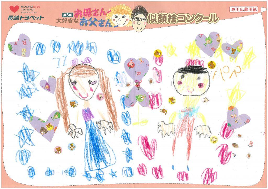 A.Sちゃん(5才)の作品