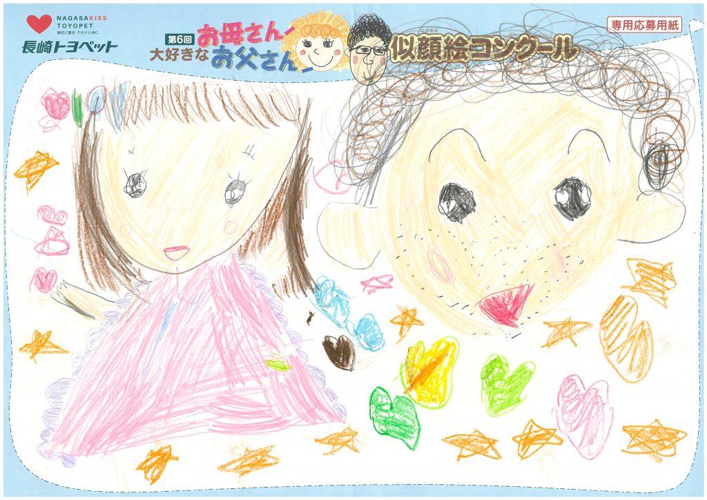 M.Mちゃん(4才)の作品