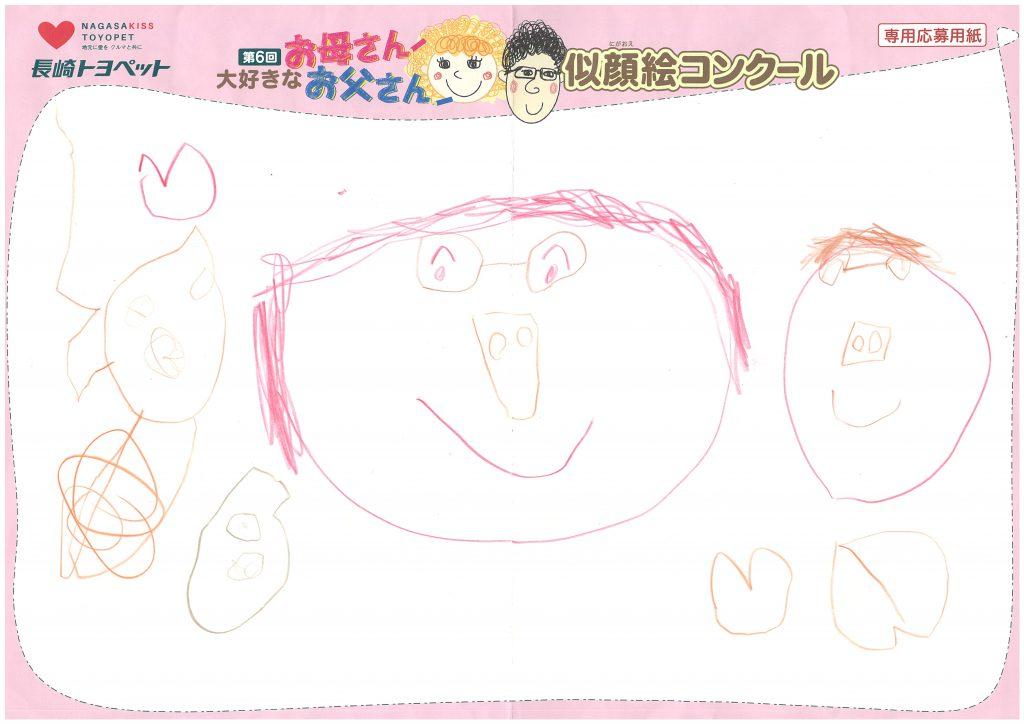N.Kちゃん(4才)の作品