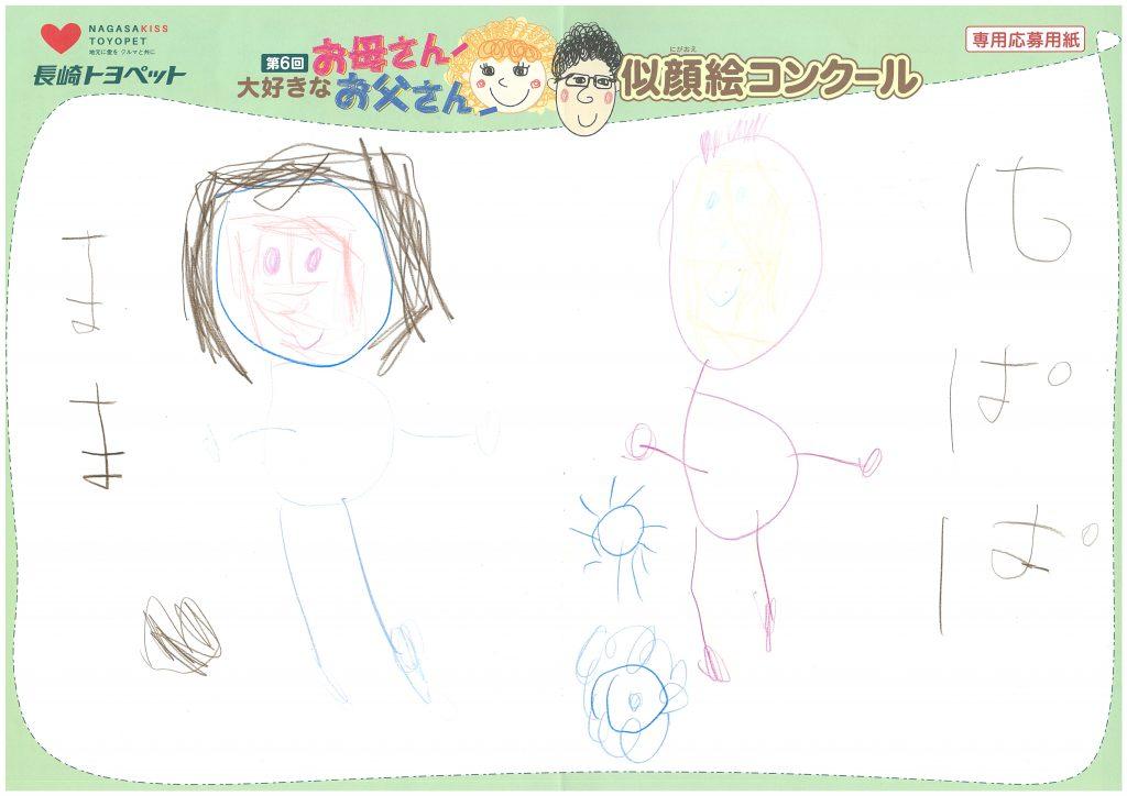 K.Iちゃん(4才)の作品