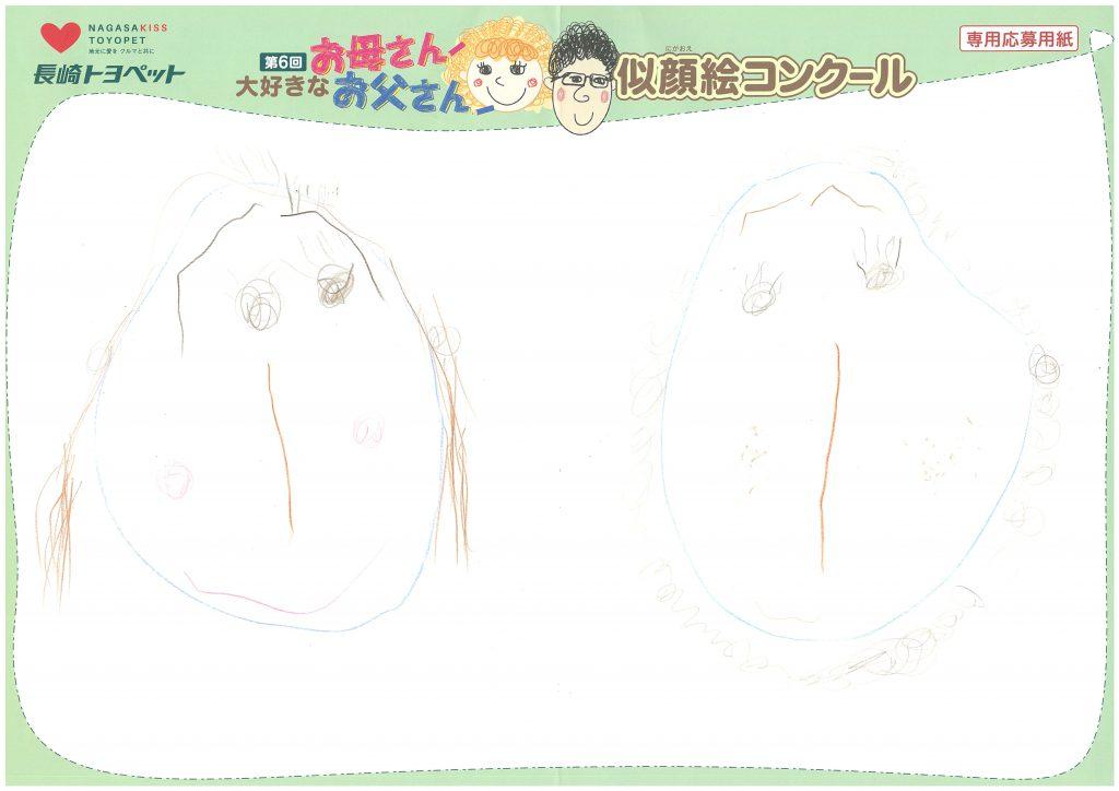 I.Yちゃん(3才)の作品