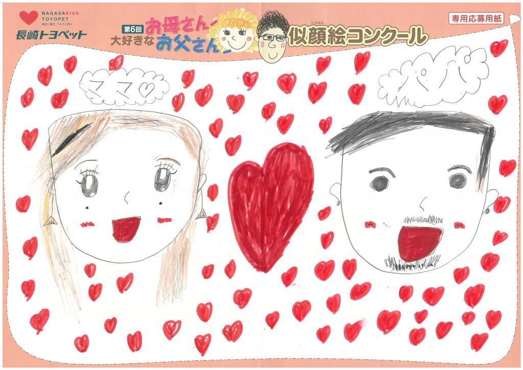 N.Iちゃん(8才)の作品
