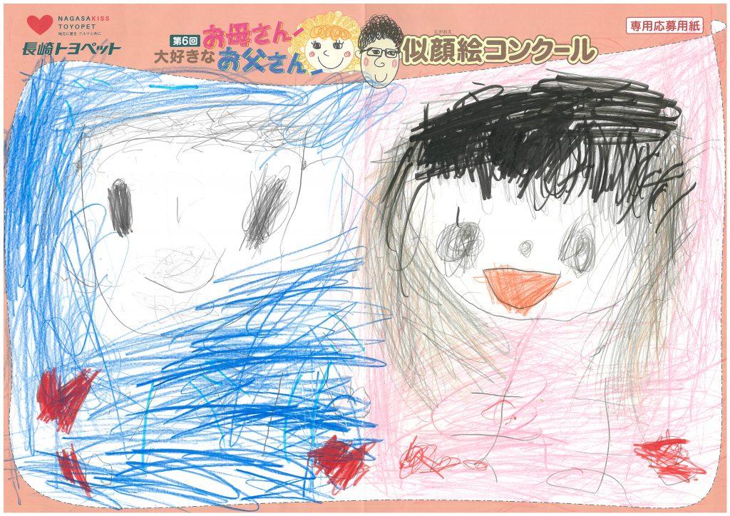 N.Iちゃん(4才)の作品