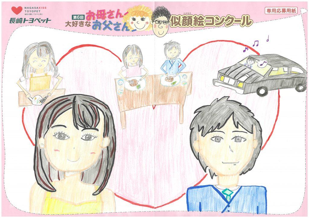 S.Iちゃん(10才)の作品