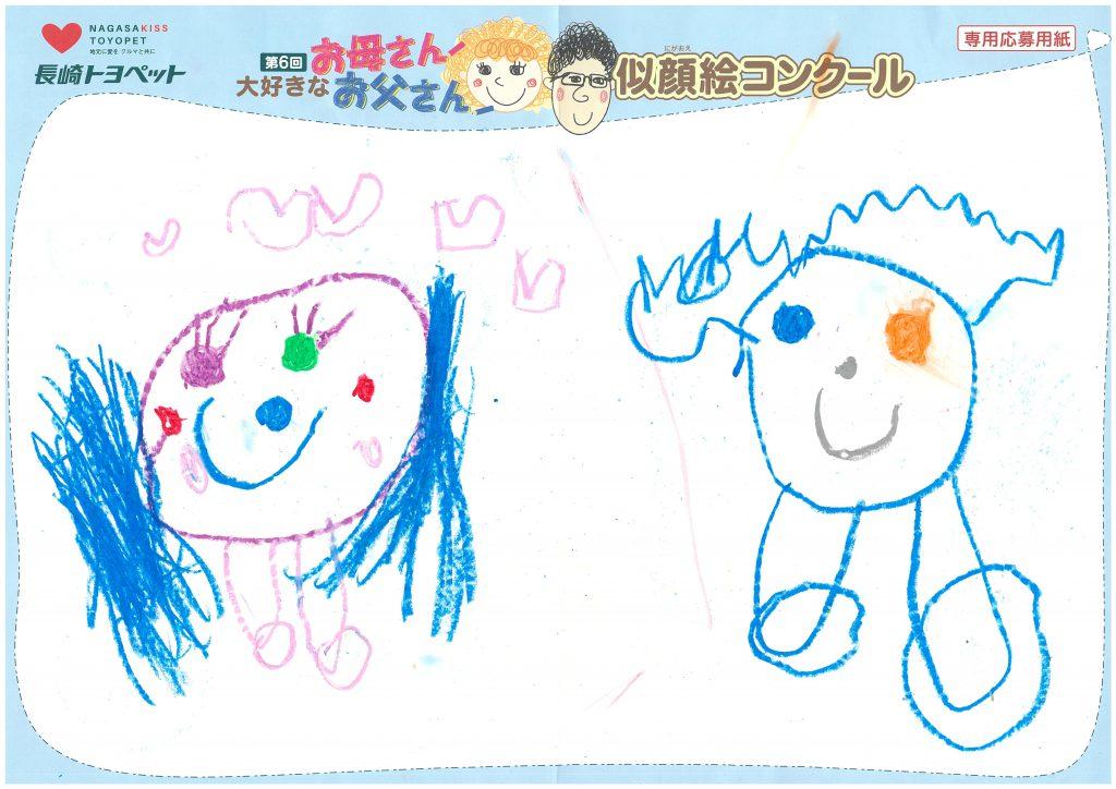 M.Mちゃん(5才)の作品