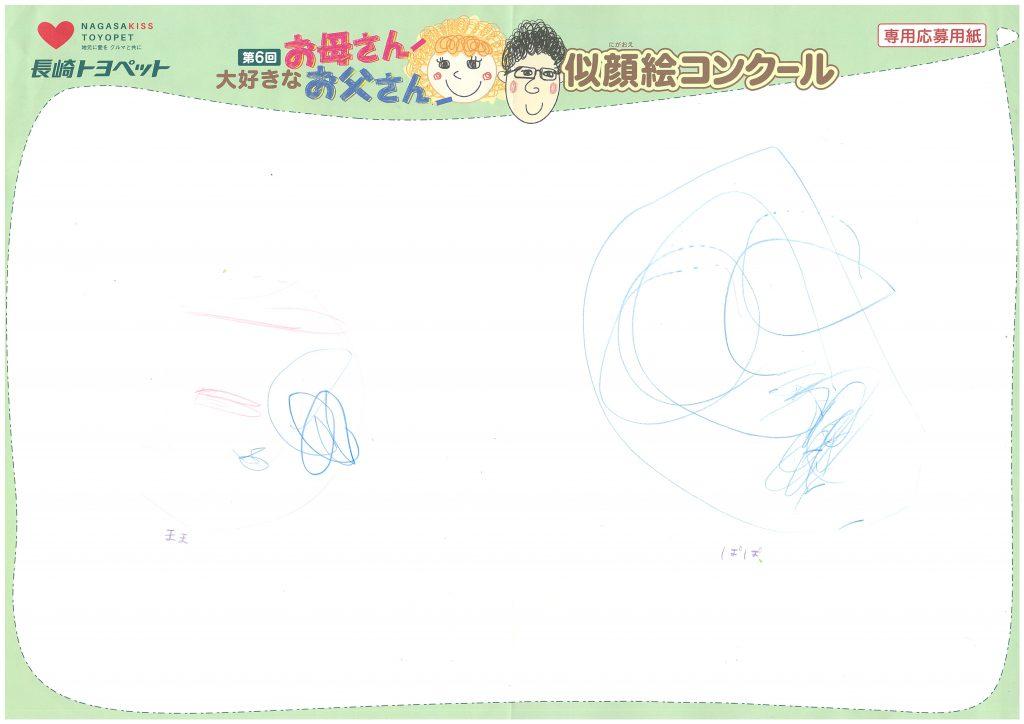 K.Uちゃん(3才)の作品
