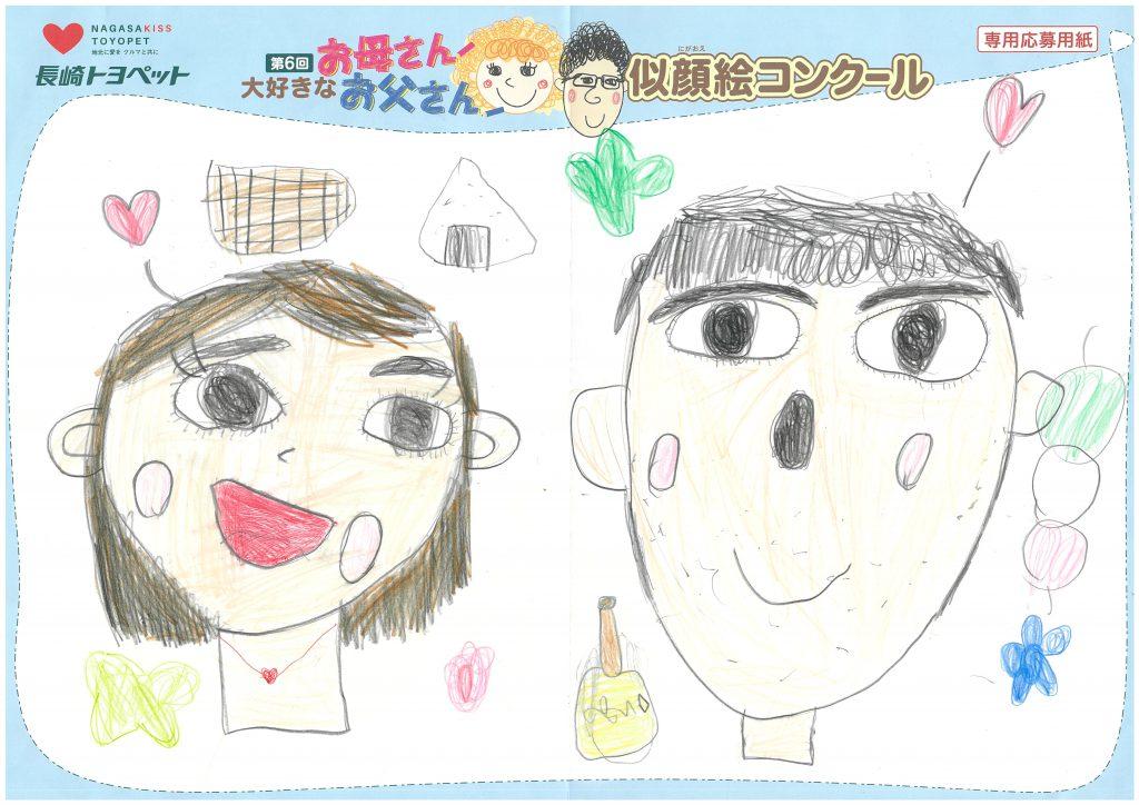 K.Iちゃん(5才)の作品