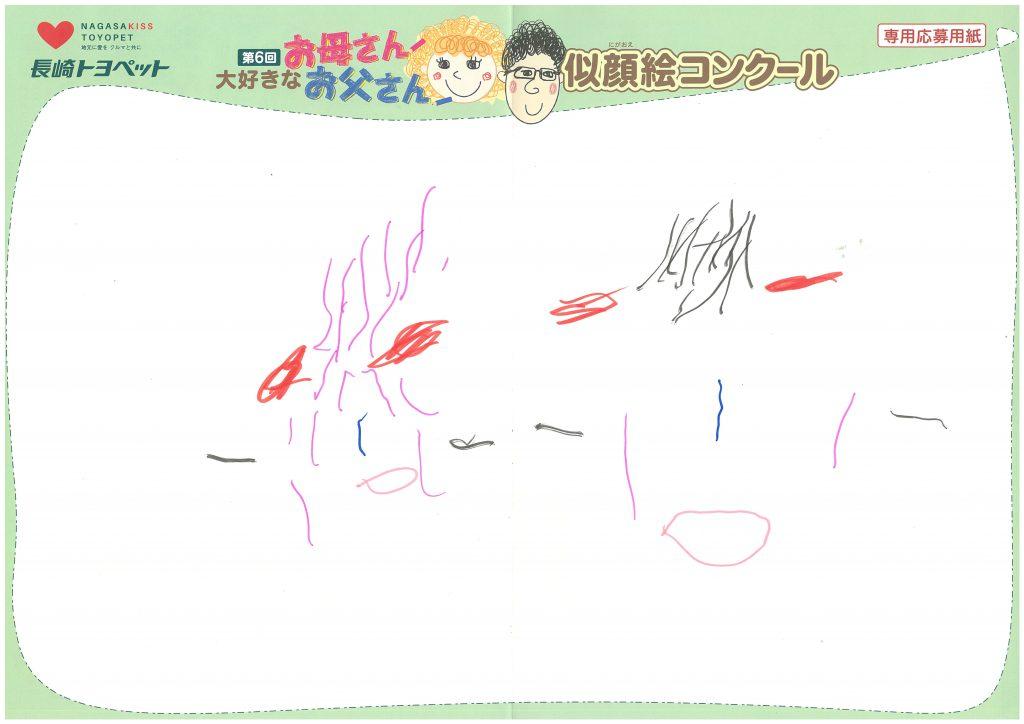 S.Aちゃん(3才)の作品