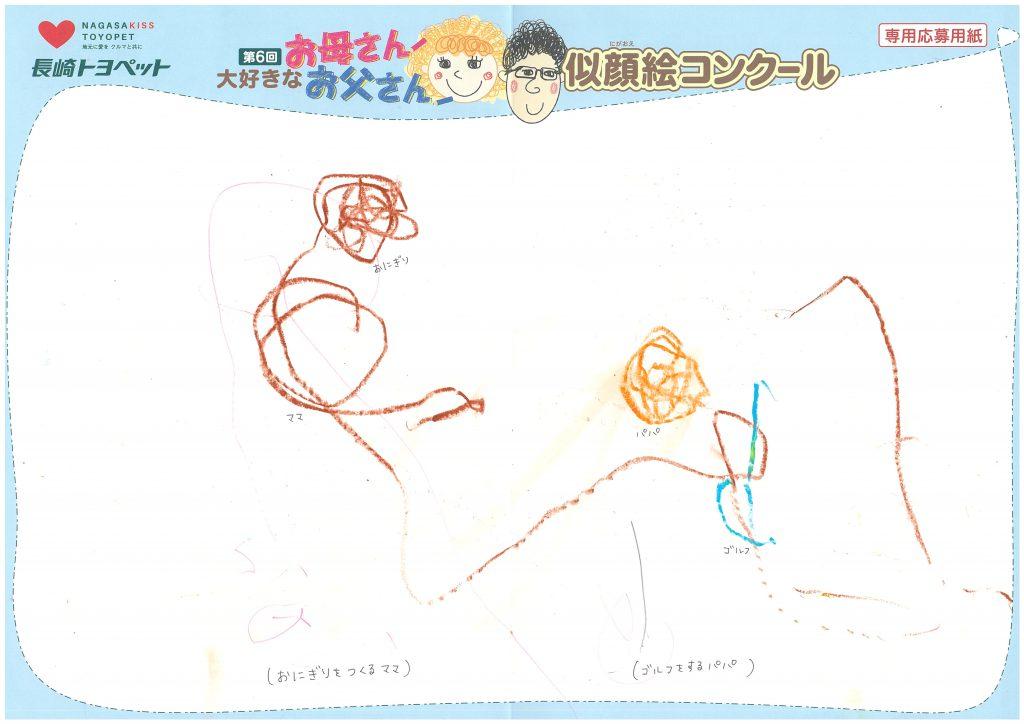Y.Kちゃん(2才)の作品