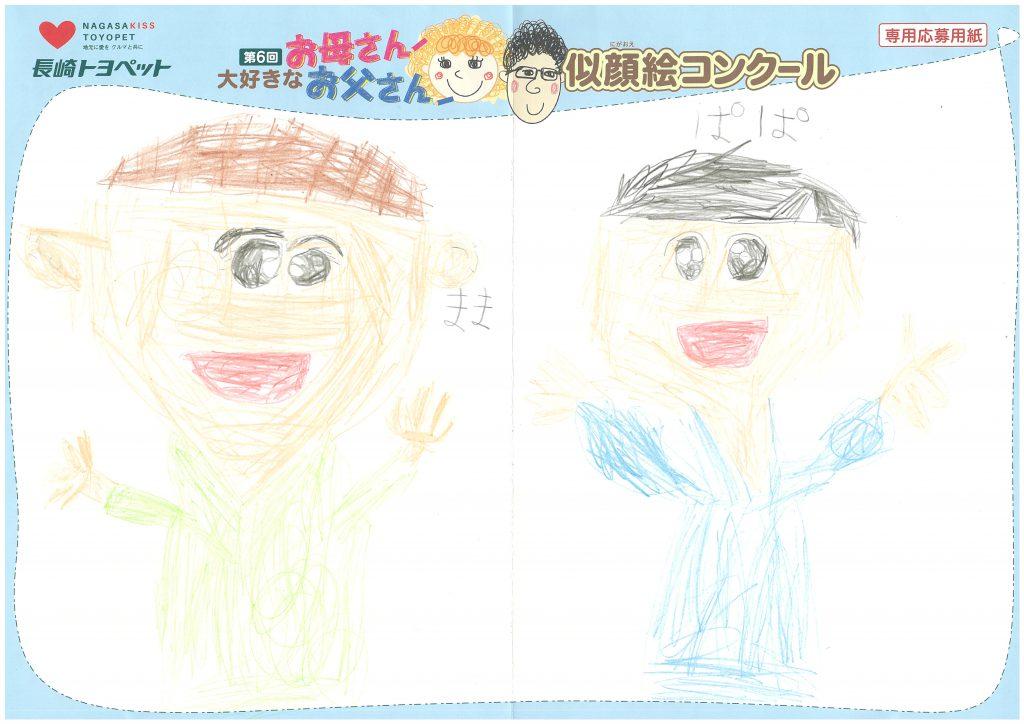 T.Tくん(6才)の作品