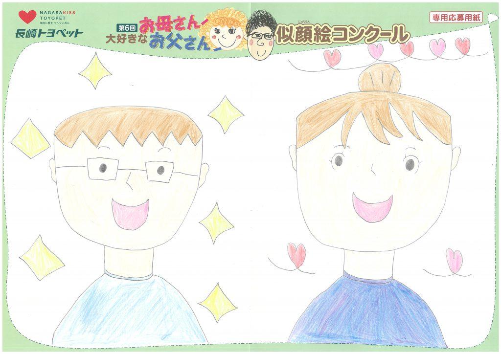 H.Sちゃん(10才)の作品