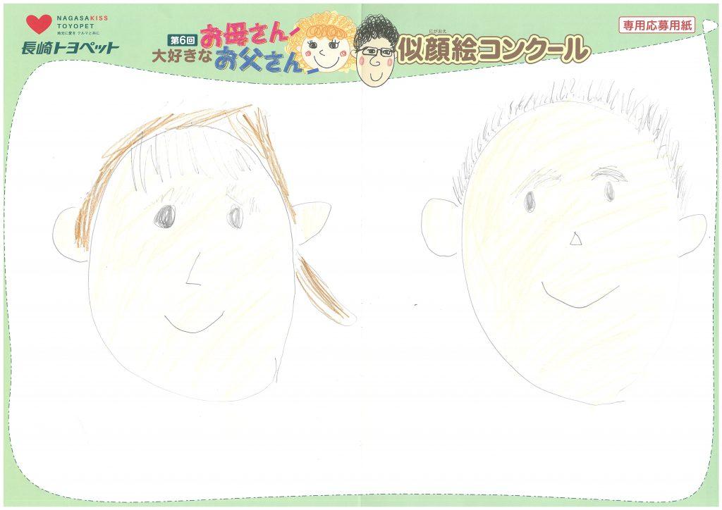 R.Kくん(10才)の作品