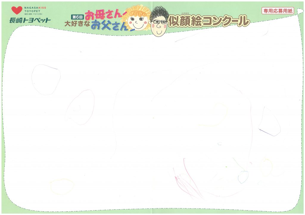 M.Yちゃん(2才)の作品