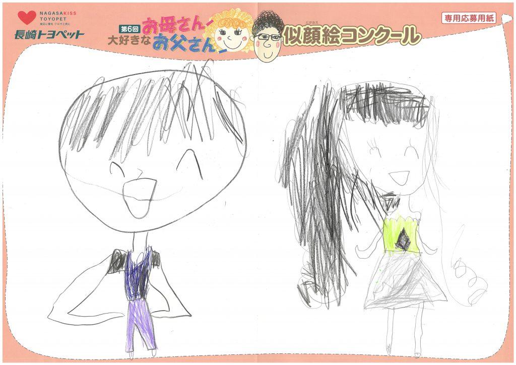 M.Hちゃん(4才)の作品