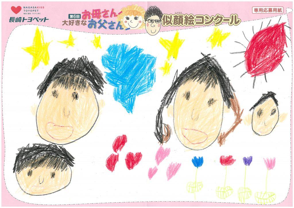 R.Iくん(6才)の作品