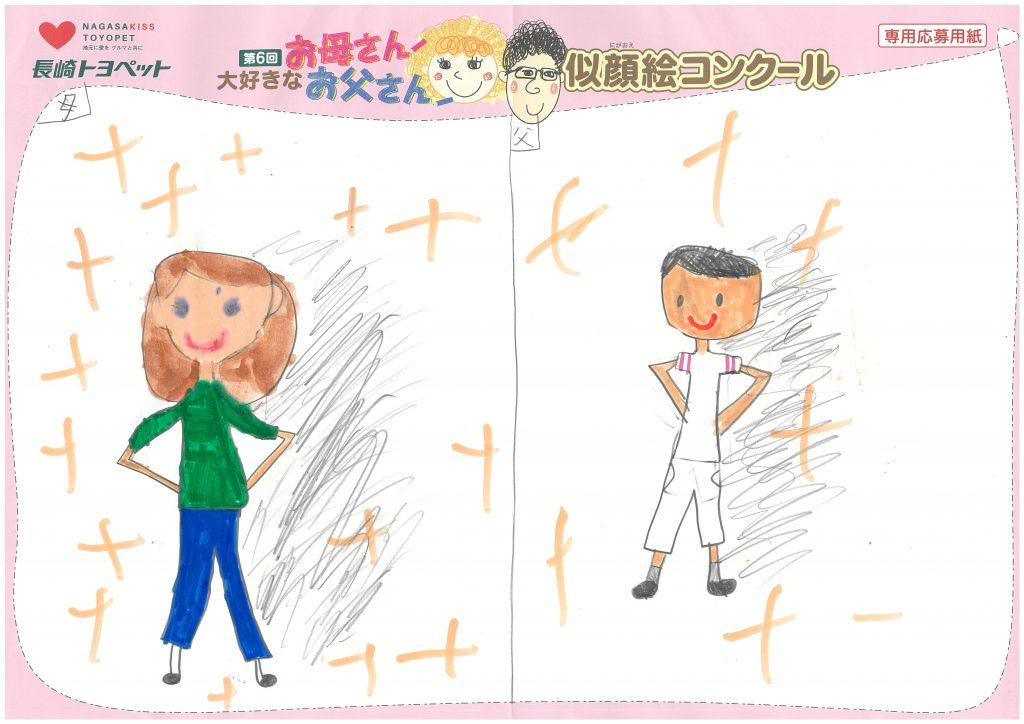 I.Kちゃん(9才)の作品