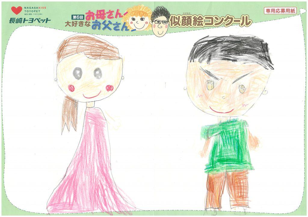 M.Hちゃん(5才)の作品