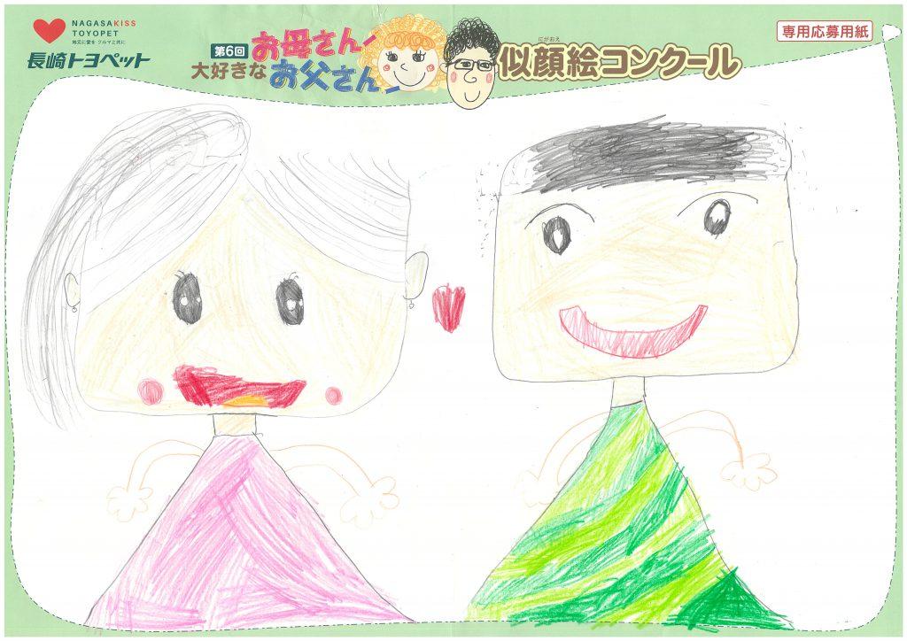 W.Hちゃん(8才)の作品