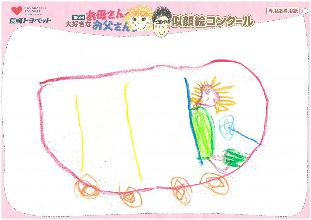 N.Uくん(5才)の作品