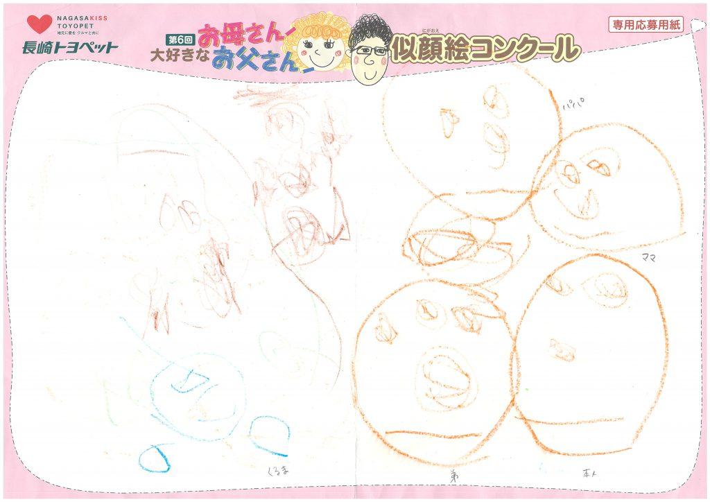 M.Mちゃん(3才)の作品