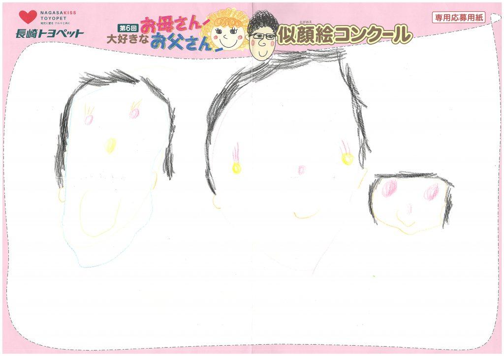M.Uちゃん(4才)の作品