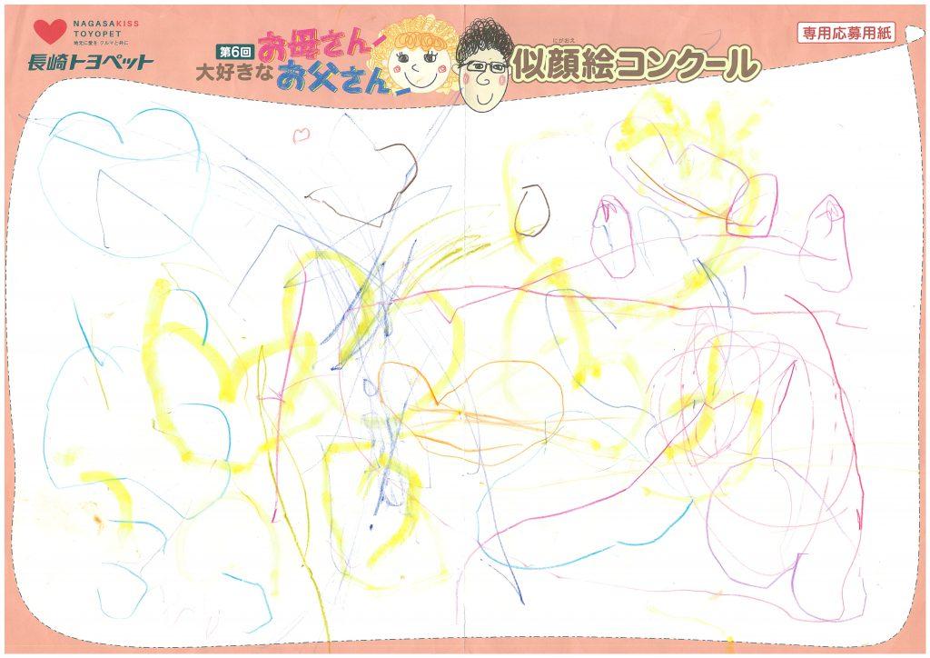 T.Tちゃん(3才)の作品