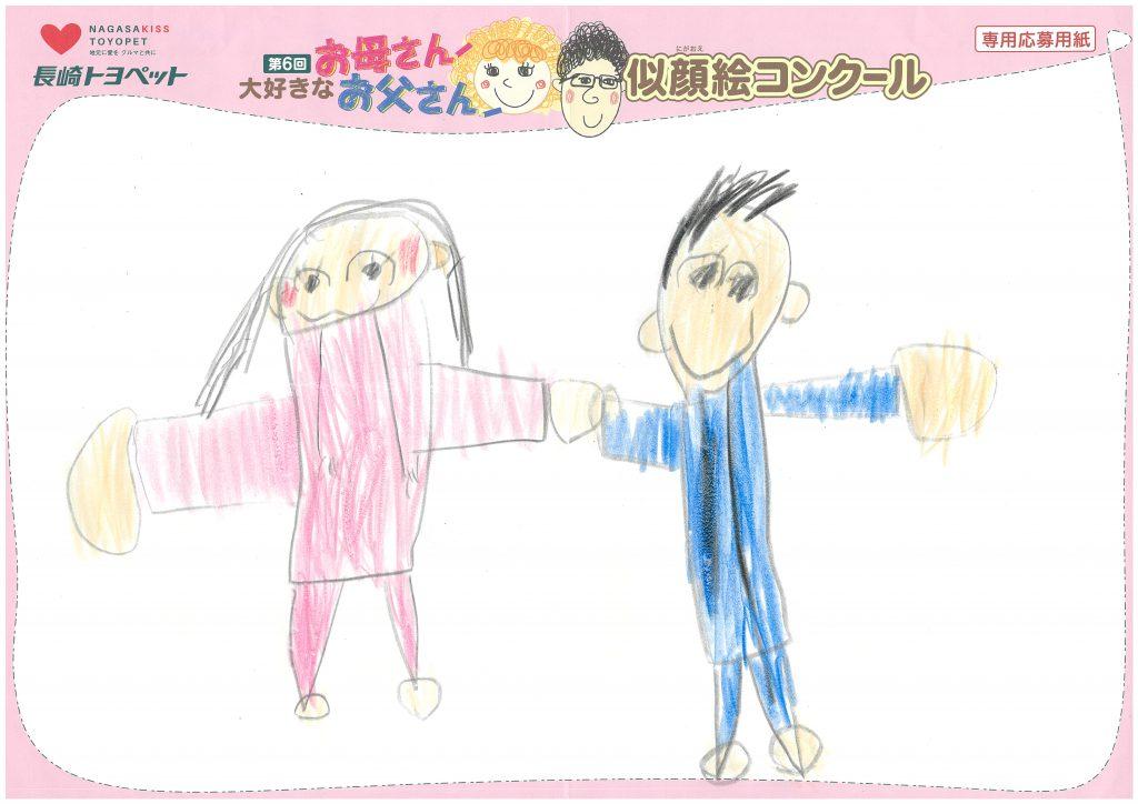 E.Iくん(6才)の作品