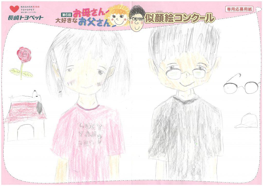 N.Nちゃん(10才)の作品