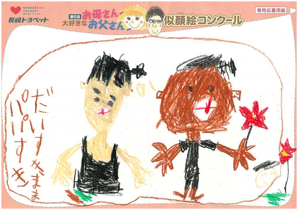 H.Tくん(6才)の作品