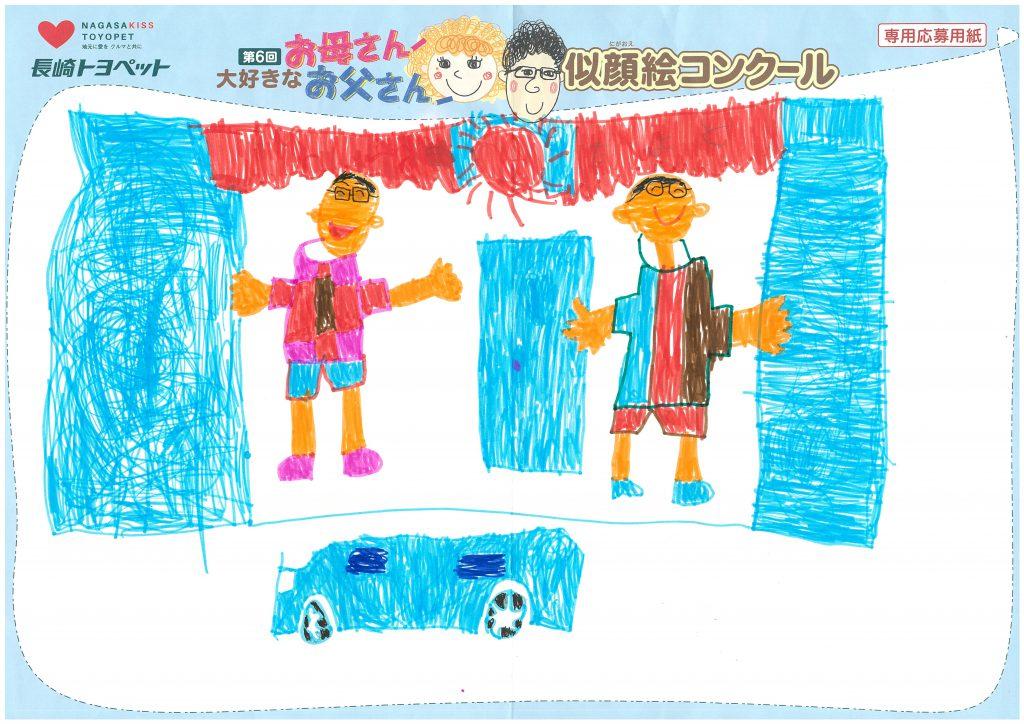 H.Sくん(6才)の作品