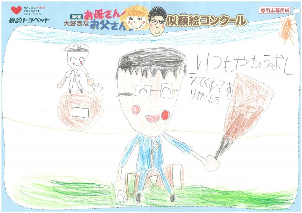 H.Uくん(6才)の作品