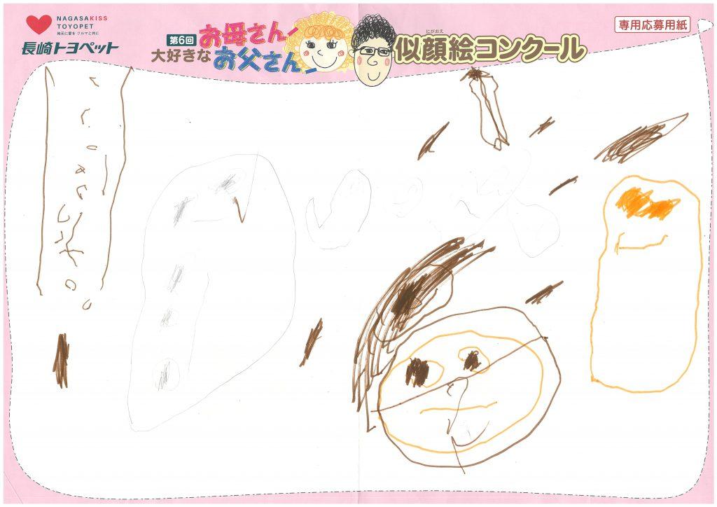 N.Sちゃん(3才)の作品