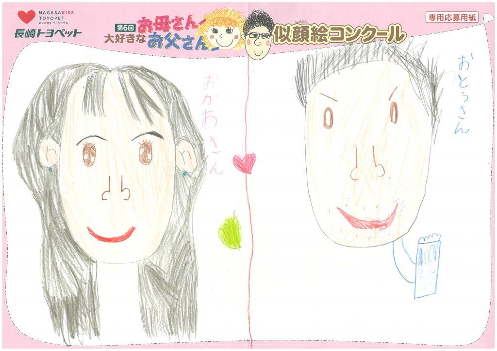 I.Kちゃん(7才)の作品