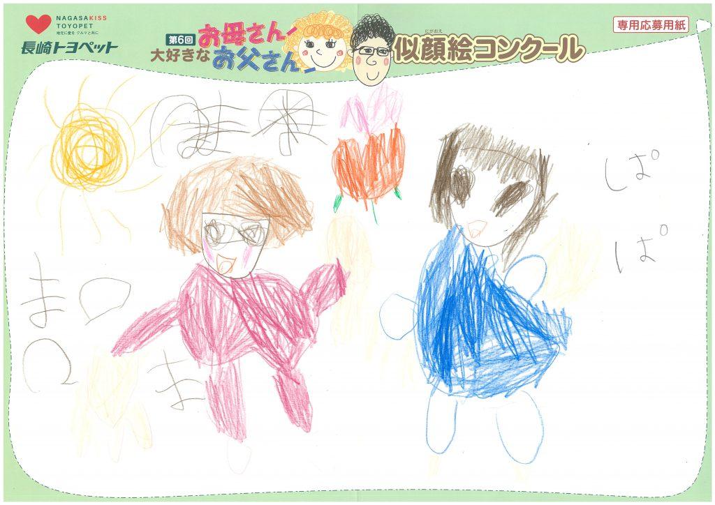 K.Nちゃん(5才)の作品