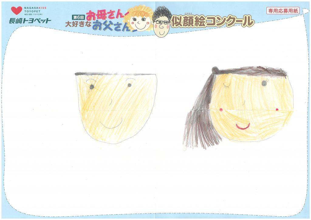 A.Iちゃん(6才)の作品