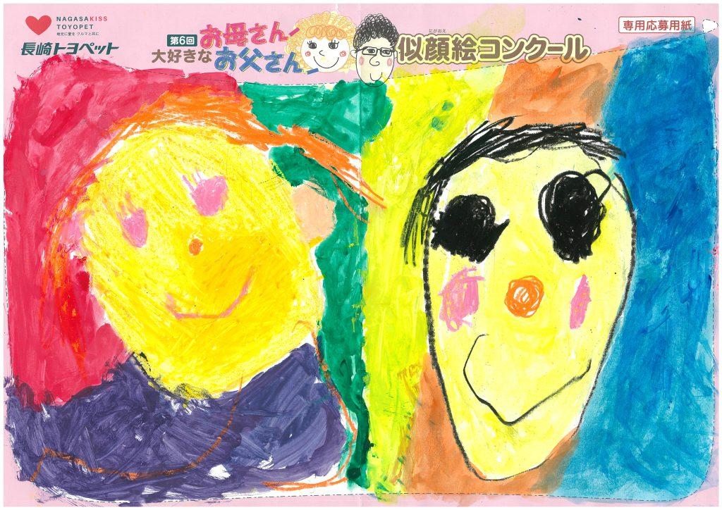 M.Bちゃん(3才)の作品