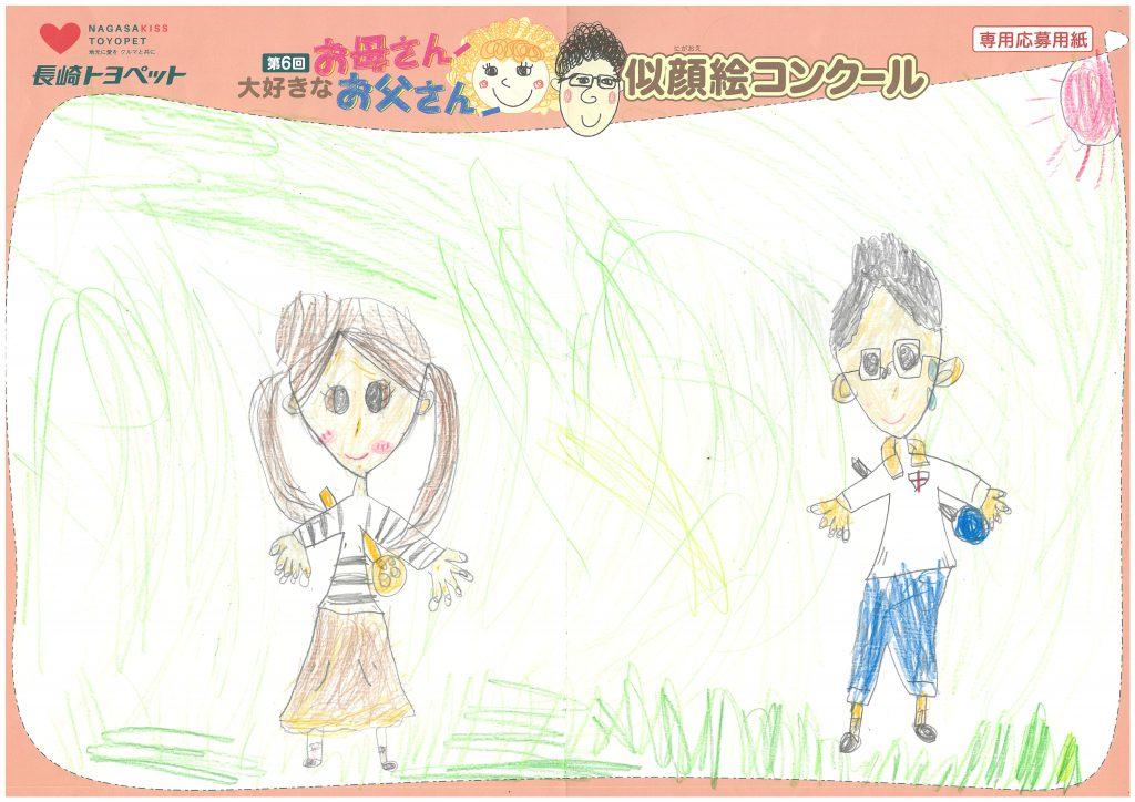 K.Eちゃん(8才)の作品
