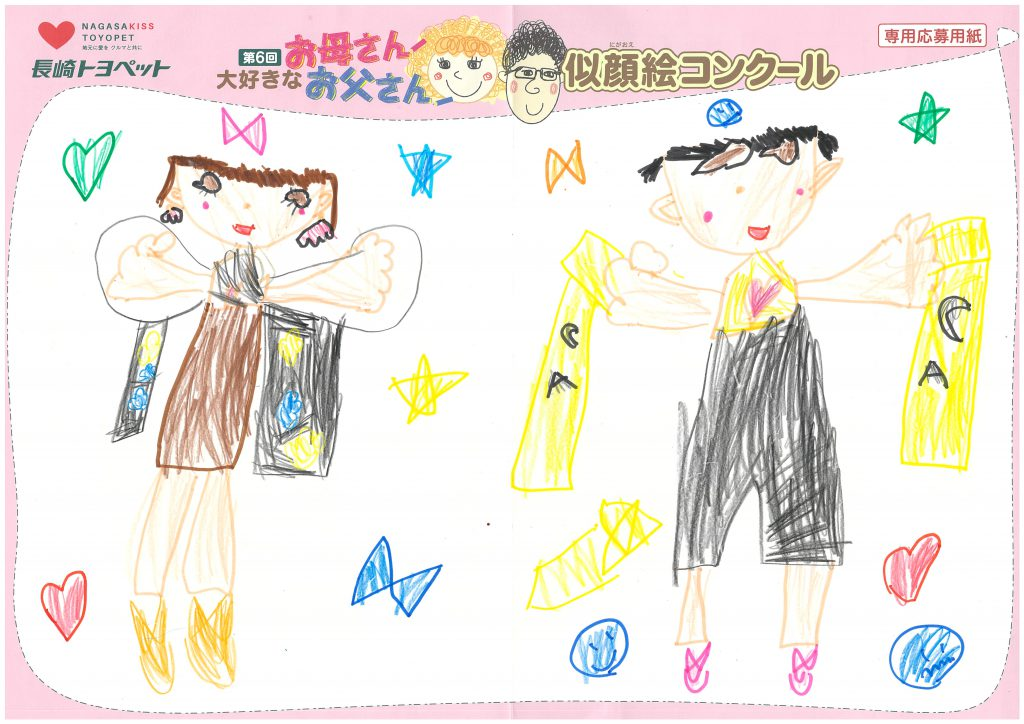 R.Oちゃん(5才)の作品