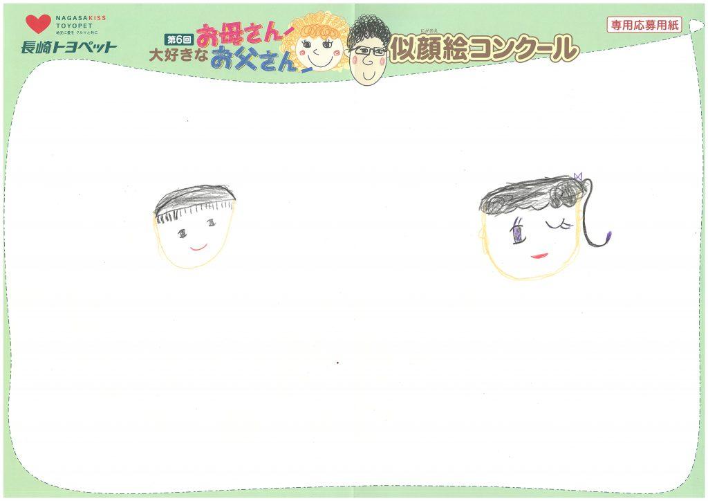 Y.Oちゃん(6才)の作品
