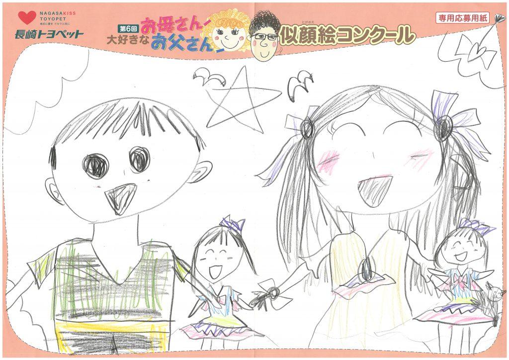 R.Hちゃん(6才)の作品