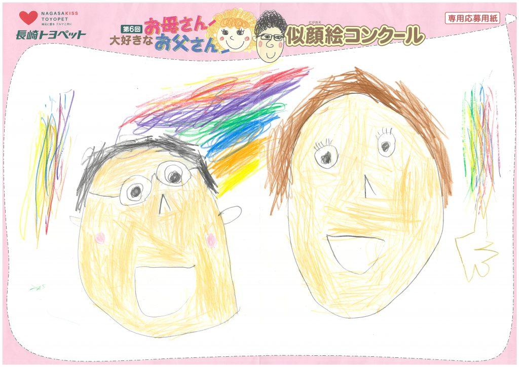 Y.Kくん(5才)の作品