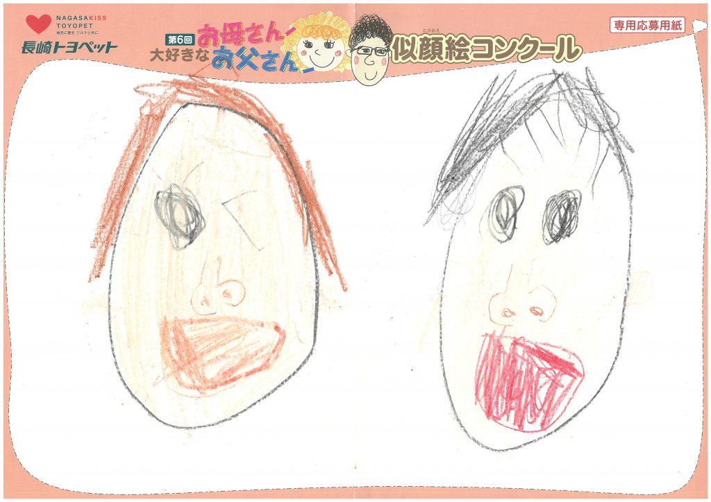 M.Hくん(5才)の作品
